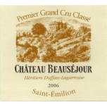Chateau Beausejour Duffau Lagarrosse 2014 750ML [Case of 12 bottles]