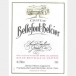 Chateau Bellefont Belcier 2004 750ML [Case of 12 bottles]
