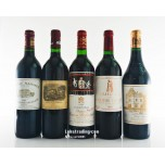 Bordeaux First Growth Horizontal 1994 750ML x 5 Bottles